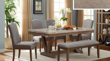 Timber Gray 5 Piece Dinette Set